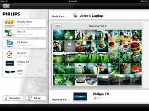 iPad App für Philips Smart TV